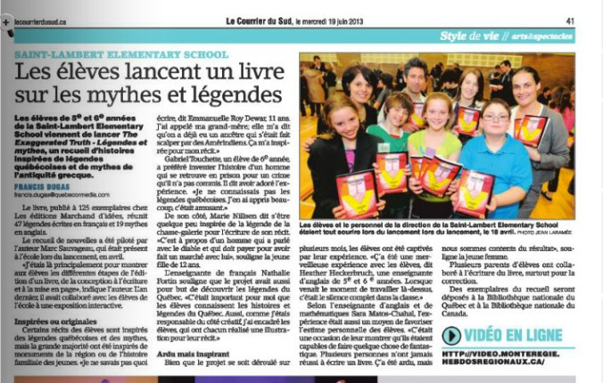 Livre_st-Lambert2013_Courrier du Sud