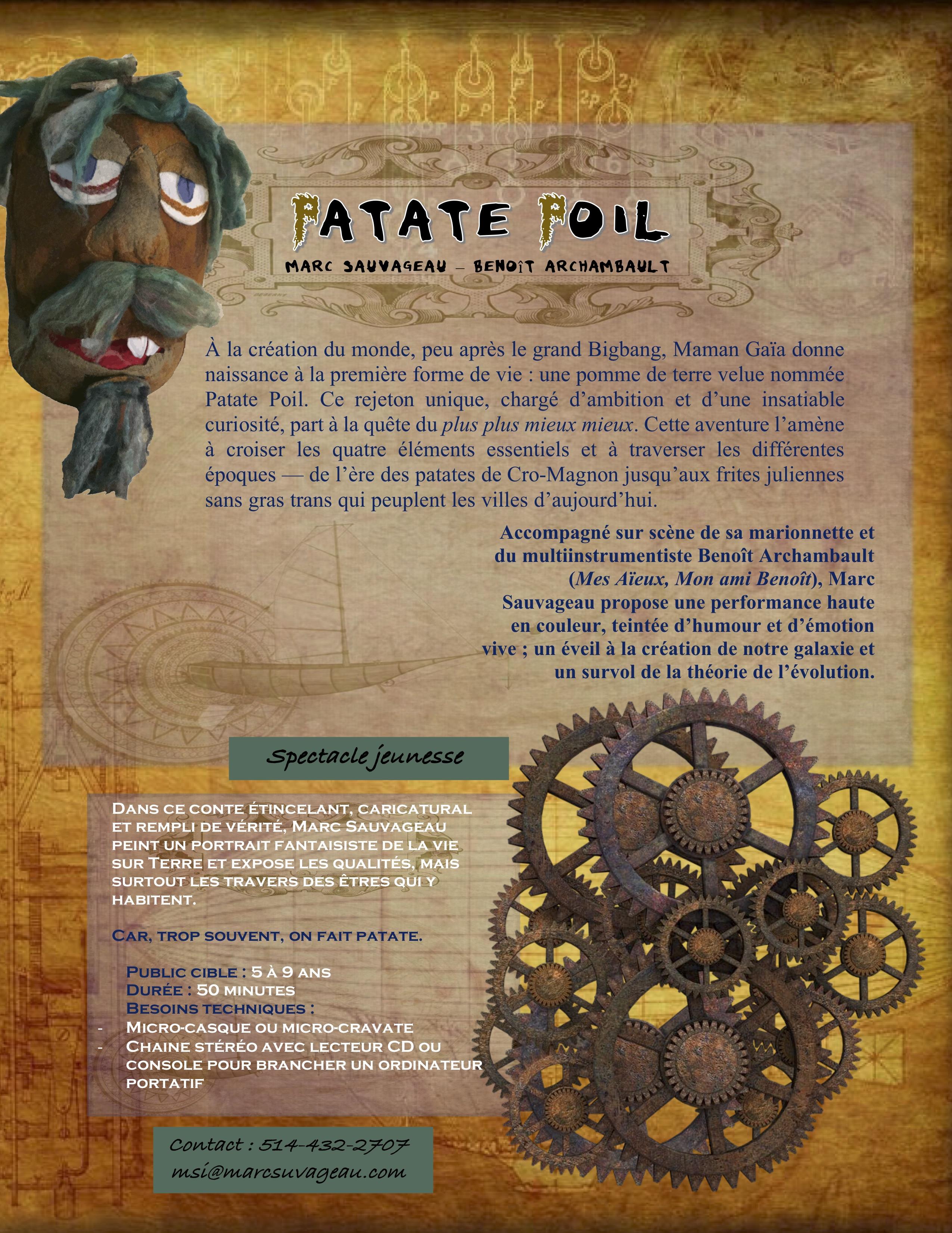 Patate Poil_descriptif